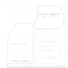 Ford Fiesta 2002 to 2008  4pc