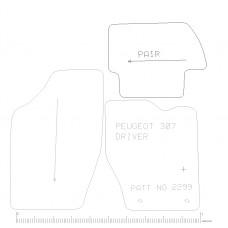 Peugeot 307  4 piece